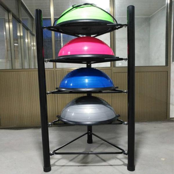 包邮健身球半圆球 平衡球 瑜伽球半球博速球波速球架收纳架
