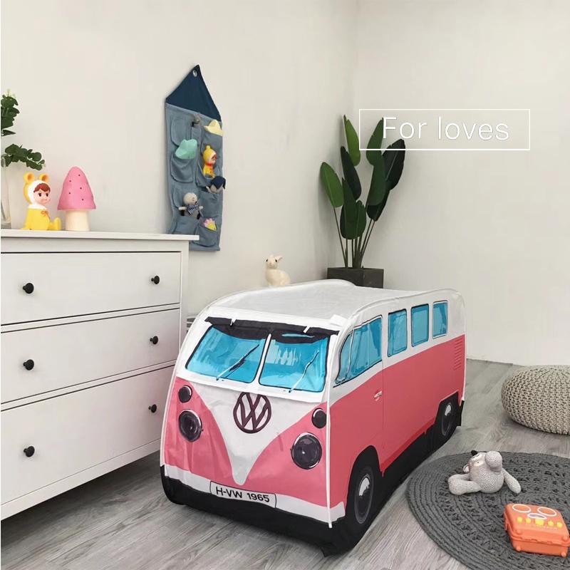 Ins новые товары ребенок автомобиль автобус палатка портативный складные на открытом воздухе комнатный живая домой домой ребенок игра дом