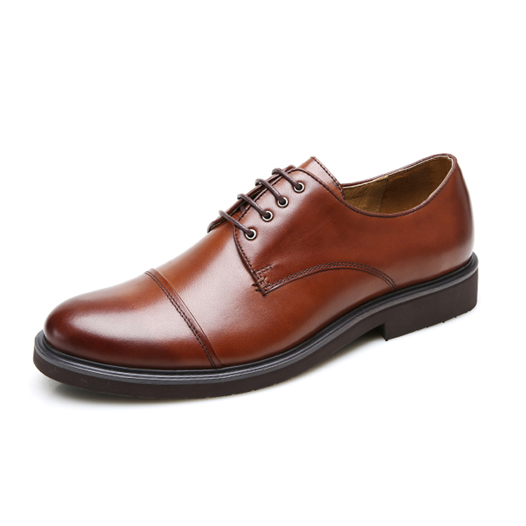 2020 new mens leather top leather business casual formal leather shoes lace up mens shoes popular mens single shoes