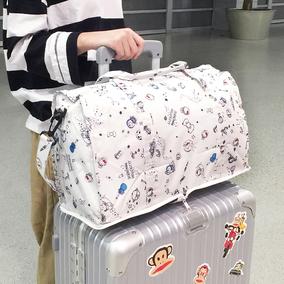 折叠女手提包拉杆箱包大容量旅行包