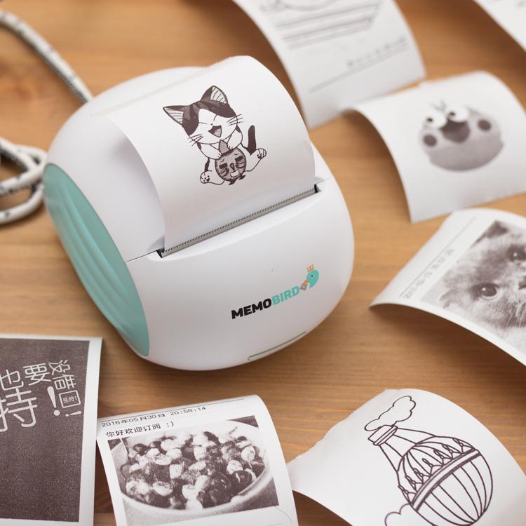 咕咕机机热敏迷你打印机,异地恋女友礼物