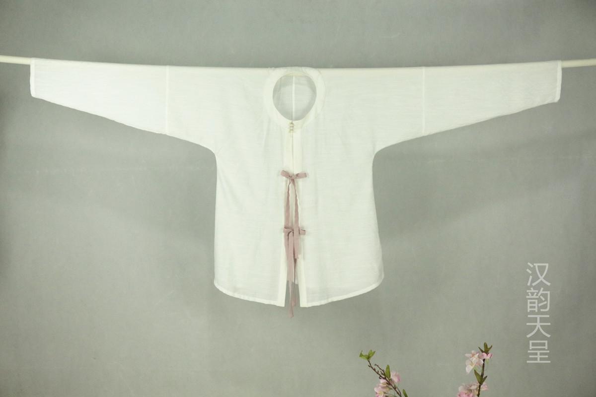 天韵馆汉服(注册商标:汉韵天呈)新款女款圆领对襟罩衫包邮