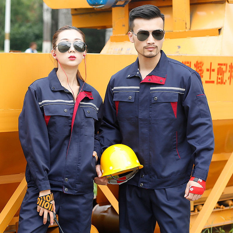 Enterprise clothing mens auto Hotel repair spring and autumn uniform electrician coal mine season engineering suit long sleeve labor protection work clothes