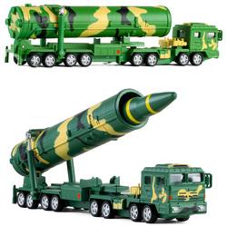 凯迪威1:64东风31DF-31A洲际弹道导弹车仿真合金军事汽车模型玩具