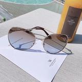 烈儿Lierkiss【扇子墨镜】防紫外线时髦素颜墨镜 HYYJ4602