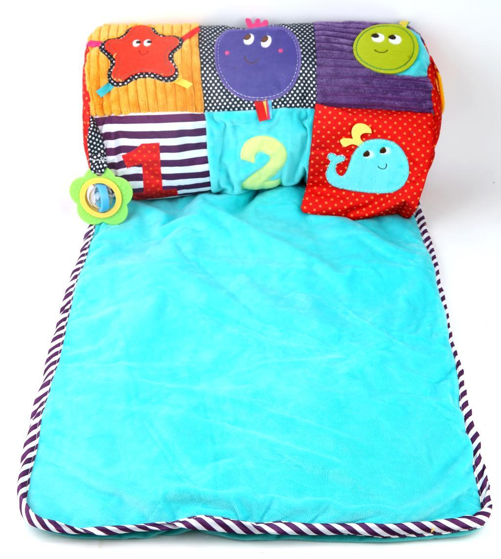 Ребенок подъем подъем одеяло папа подушка игра одеяло ребенок подушка лифт глава практика ребенок ползать колодка небольшое количество