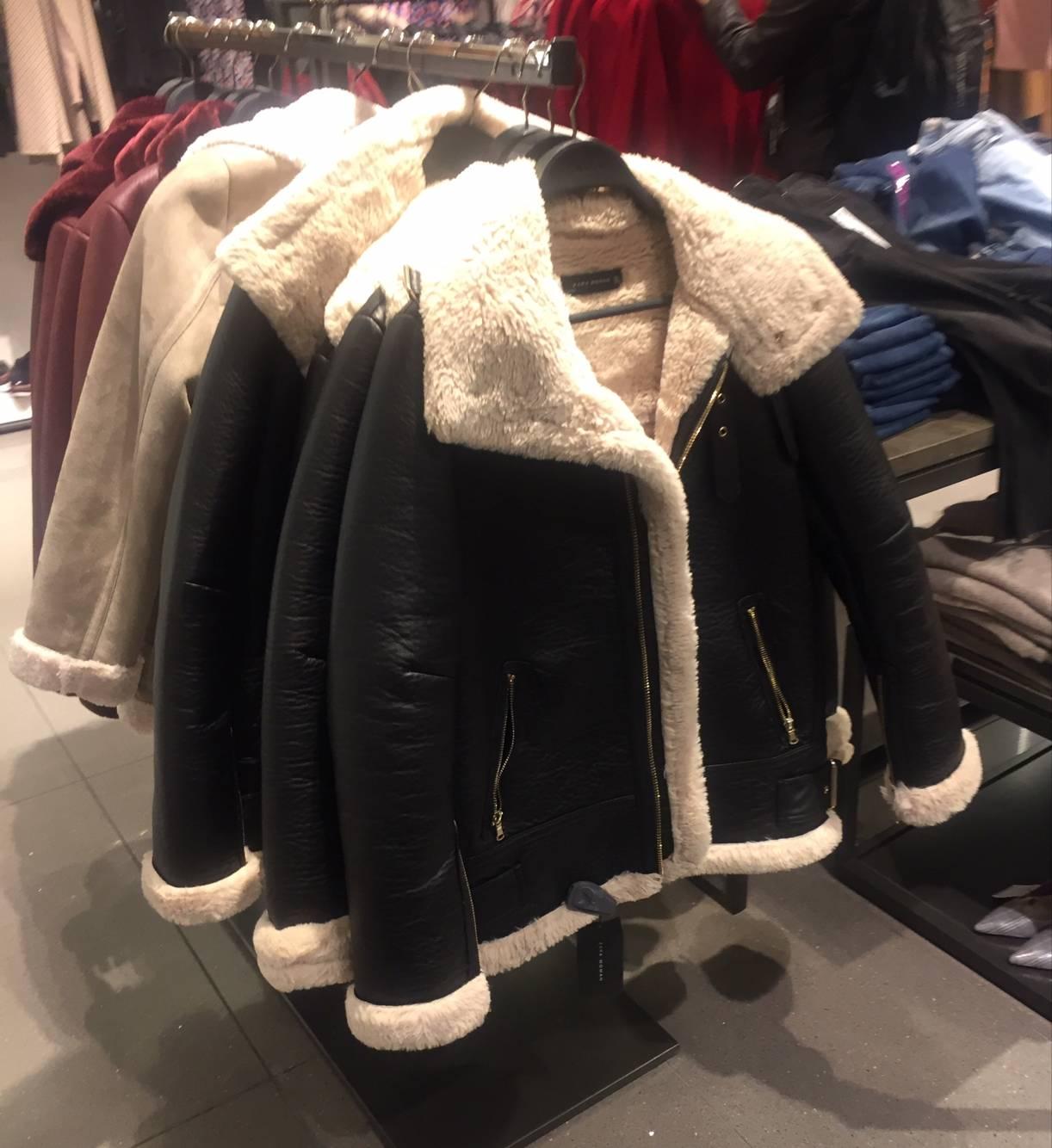 2017冬季新款羊羔毛复合外套女韩版宽松短款机车保暖夹克2969/241,可领取元淘宝优惠券