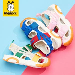 巴布豆house 2021夏包头机能凉鞋
