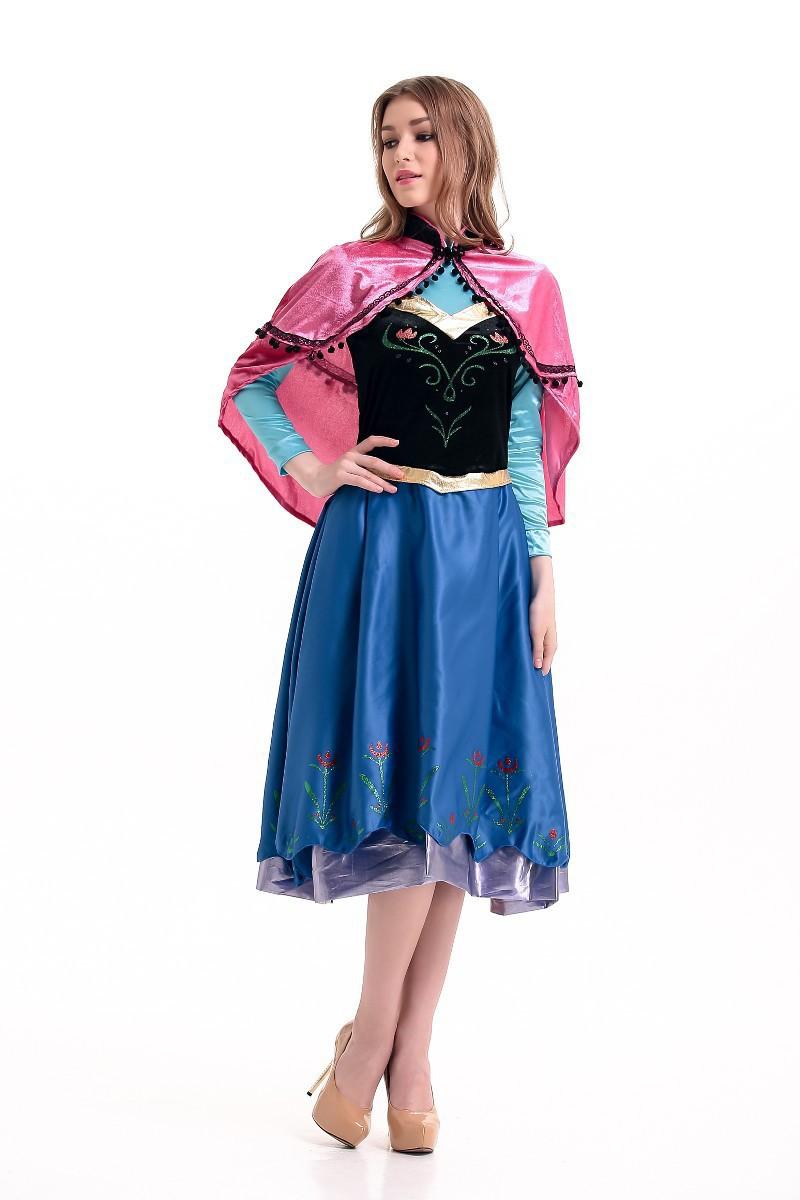 新款角色扮演如图民族服装冰雪服装舞台装演出服民族服装舞台装