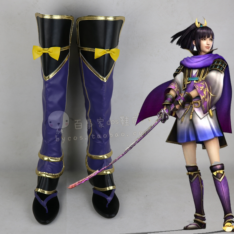 The Warring States matchless 4 Senlan pills Cosplay shoes