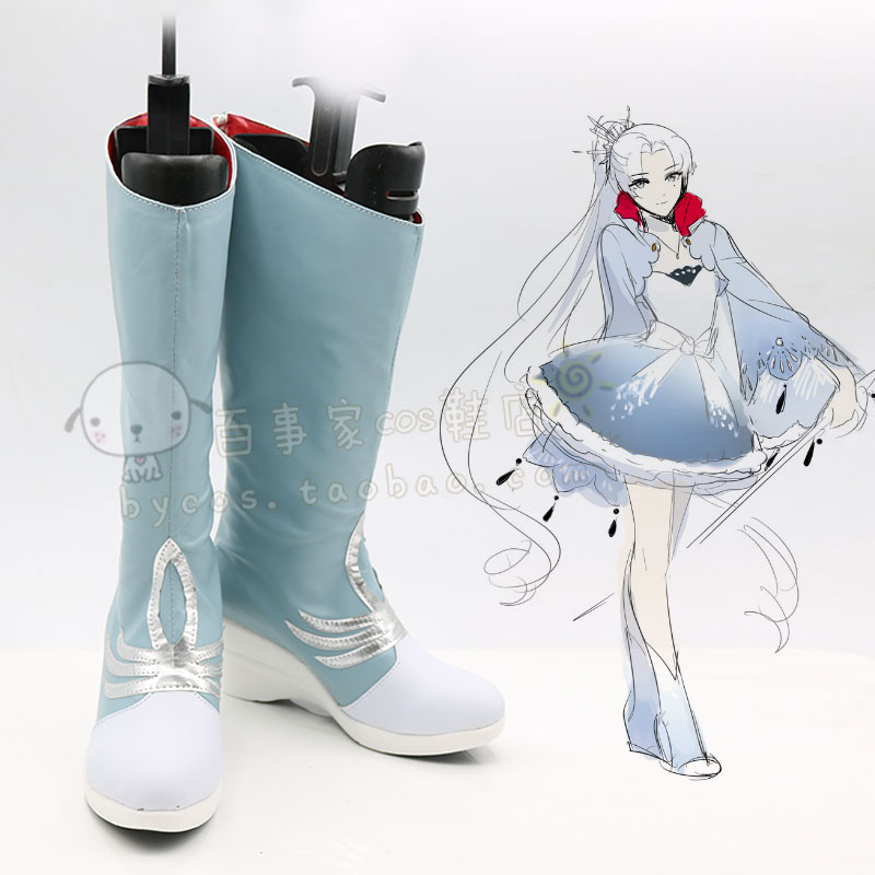 Rwby Weiss schnee Cosplay shoes cos shoe number D36
