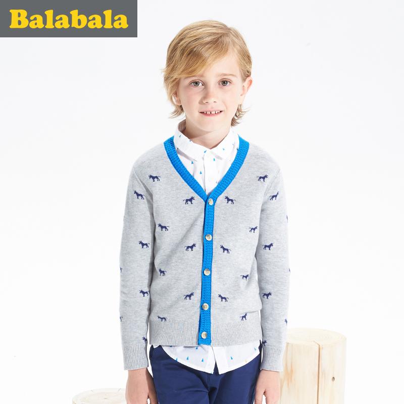 巴拉巴拉中大童純棉開衫