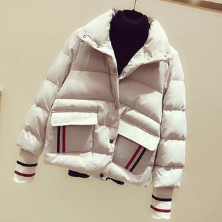 短款冬季新款棉衣韩版流行小羽绒棉袄加厚宽松外套女装