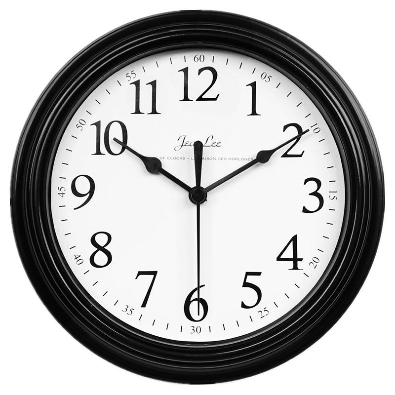 Каждый день специальное предложение современный простой часы настенные часы гостиная спальня домой круглый аккумулятор цифровой часы вешать стол стена колокол
