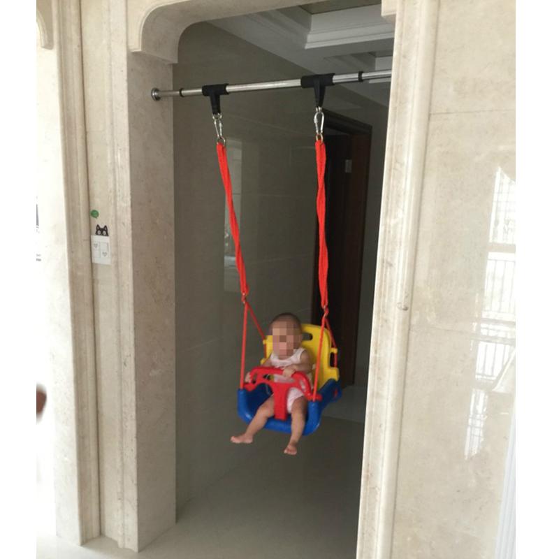 �和��秋千室��敉� 家用�T框�胃芙M合吊椅 小孩���u�@����玩具