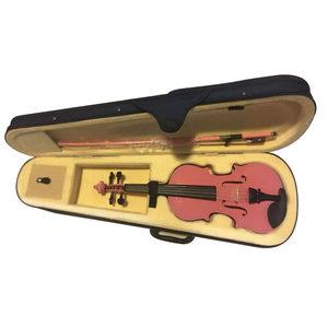 包邮彩色粉色全套配置配弓杆小提琴