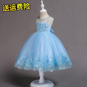 儿童6礼服7蓬蓬裙8花童9婚纱短款10公主裙女童11连衣裙12岁女孩子