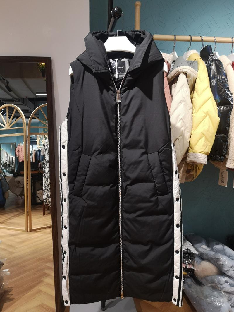 2020 winter off season special: hooded sports style long down jacket