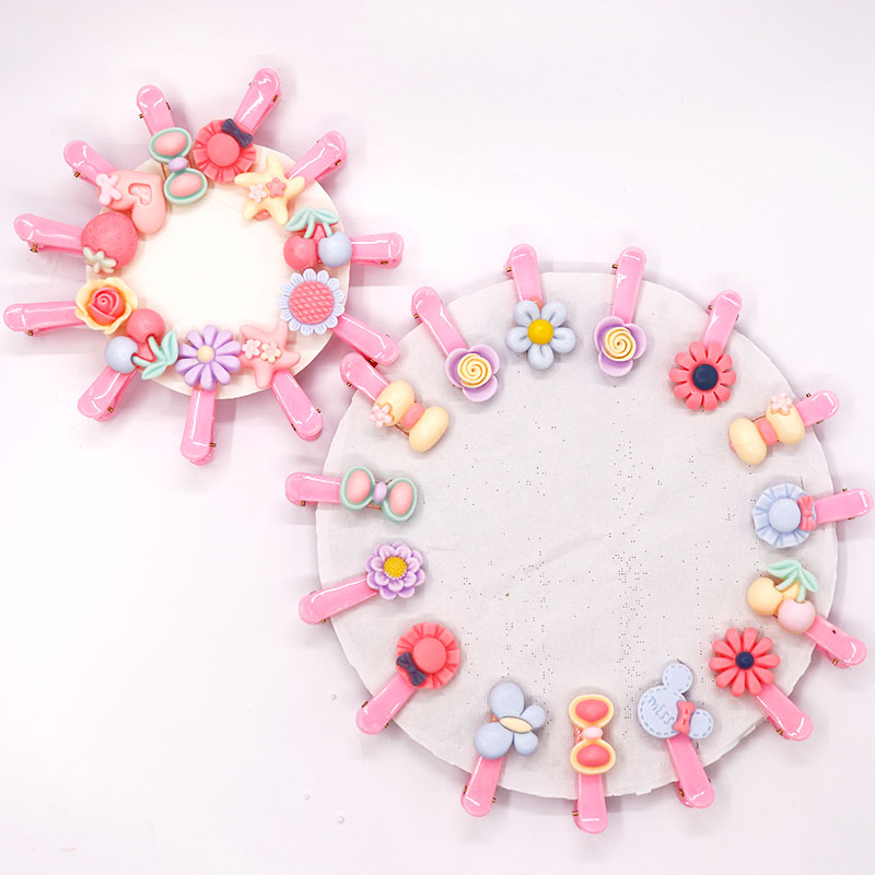 Korean version of childrens cute hairpin hairpin baby hairpin Princess hairpin headdress little girl girls headrope