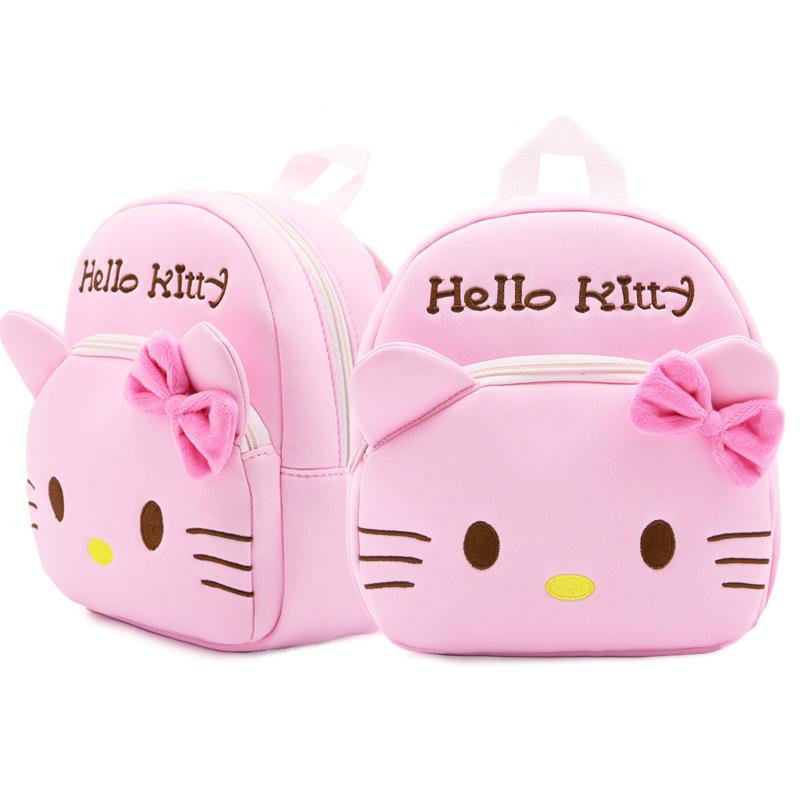 凯蒂猫婴幼儿童轻便小书包女宝宝BB双肩包迷你潜水料防水背包3岁