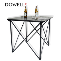 Mostly folding aluminum table portable outdoor picnic table self-driving camping barbecue camping Beach table authentic 2951