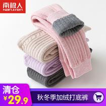 儿童保暖裤内穿女童冬装裤子一条过冬棉裤打底裤男童三层加绒加厚