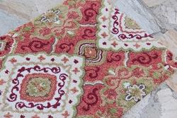 茜茜李出口欧美进门地垫美式门垫床边羊毛地毯欧式脚垫米卡爱拉