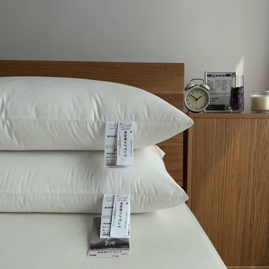 希原寝具/日輸出式綿100%保護ネックシングルクッション48*74シングル快適で柔らかい枕芯