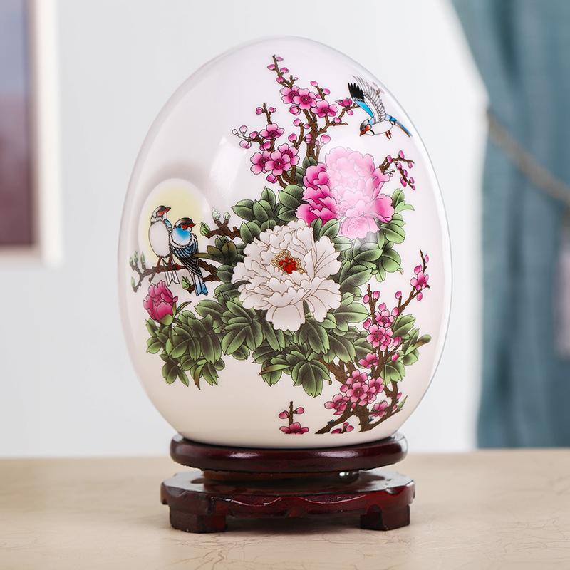 白色家居客厅装饰创意小陶瓷花瓶