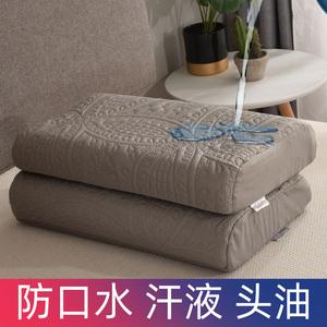 单人儿童乳胶枕巾枕头套防水泰国乳胶枕橡胶枕记忆枕枕套一对拍2