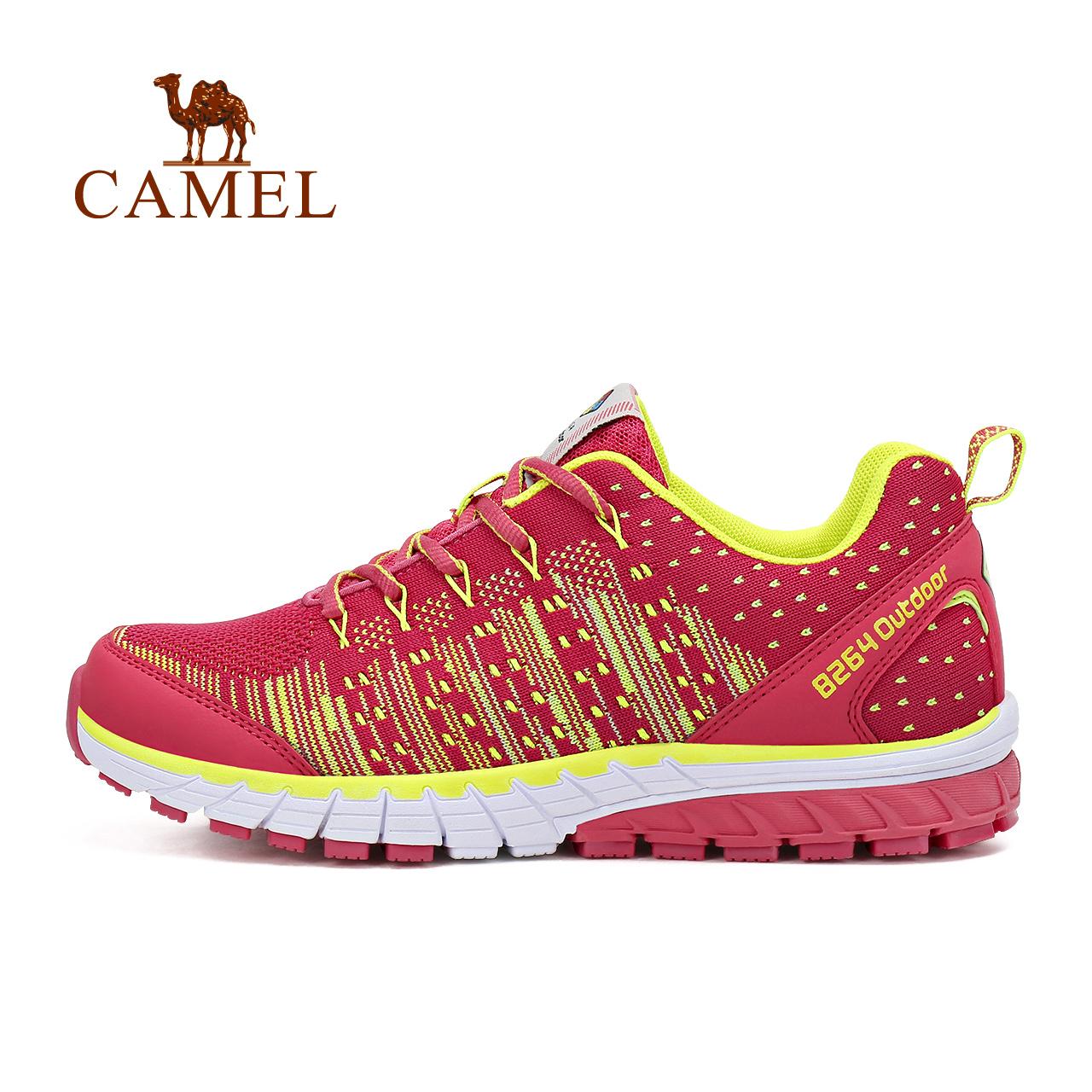 骆驼&8264登山队系列户外越野跑鞋女士休闲运动鞋轻便透气低帮鞋