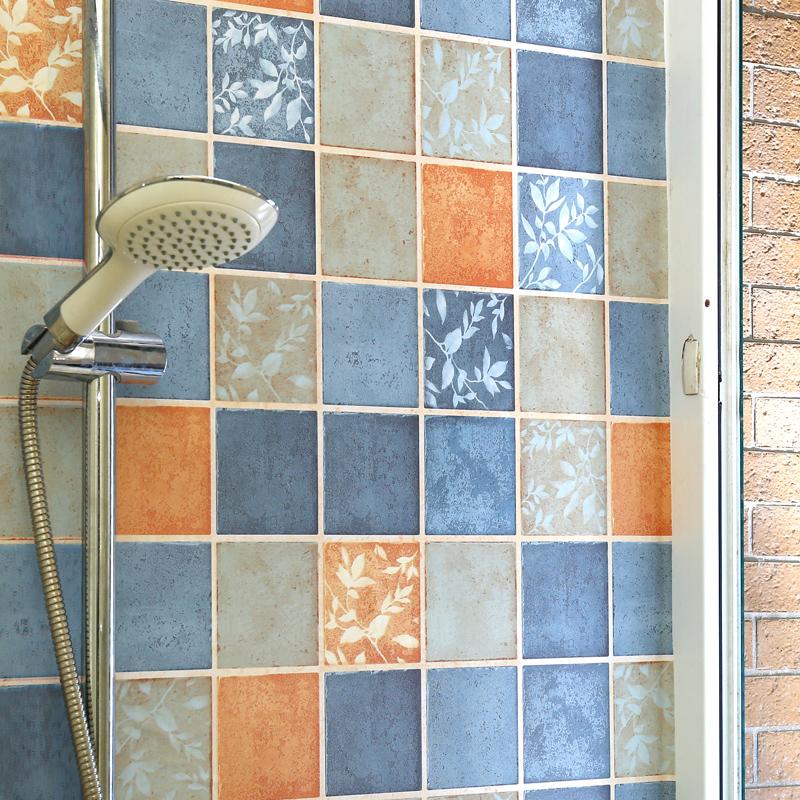 卫生间贴纸防水墙贴浴室洗手间装饰壁纸加厚自粘墙纸厕所瓷砖贴纸