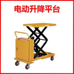 电动平台车 移动式升降平台机手动手推车模具箭叉车重霸起重
