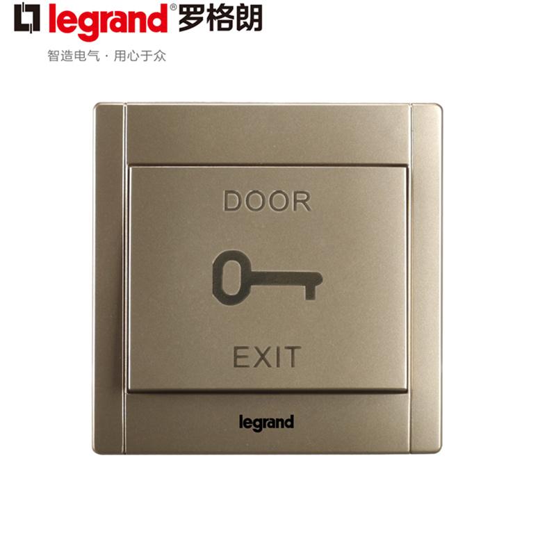 Шампанское TCL Legrand золотой из дверь переключатель Съемка с большой кнопкой дверь Запрещено в переключатель автоматическая дверь переключатель