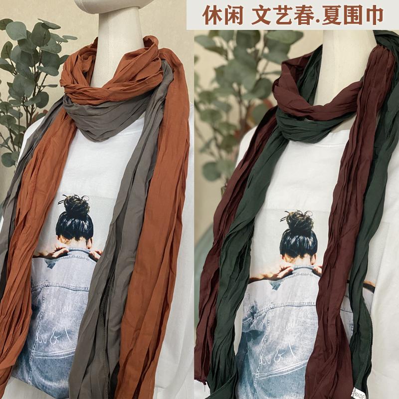 Женские шарфы из хлопка Артикул 587485424934