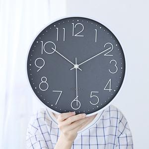 领5元券购买创意个性客厅石英钟表挂墙家用挂钟