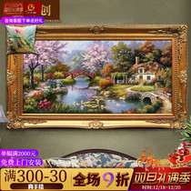 Ya Chuang Thomas Decorative Painting can be customized European cross-version landscape landscape painting restaurant oil painting parlour bedroom hanging painting