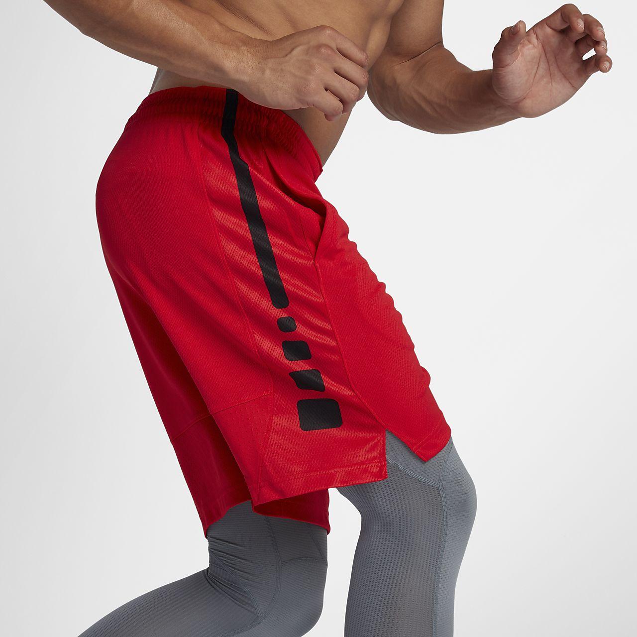 街球篮球裤男 短裤宽松运动训练裤 球裤定制 红黑白灰4色双侧口袋