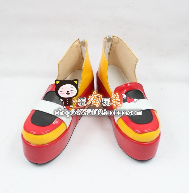 神奇宝贝特别篇 沙菲雅cosplay鞋cos鞋4068