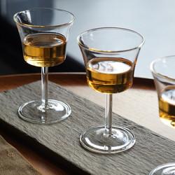 耐热玻璃日式酒杯