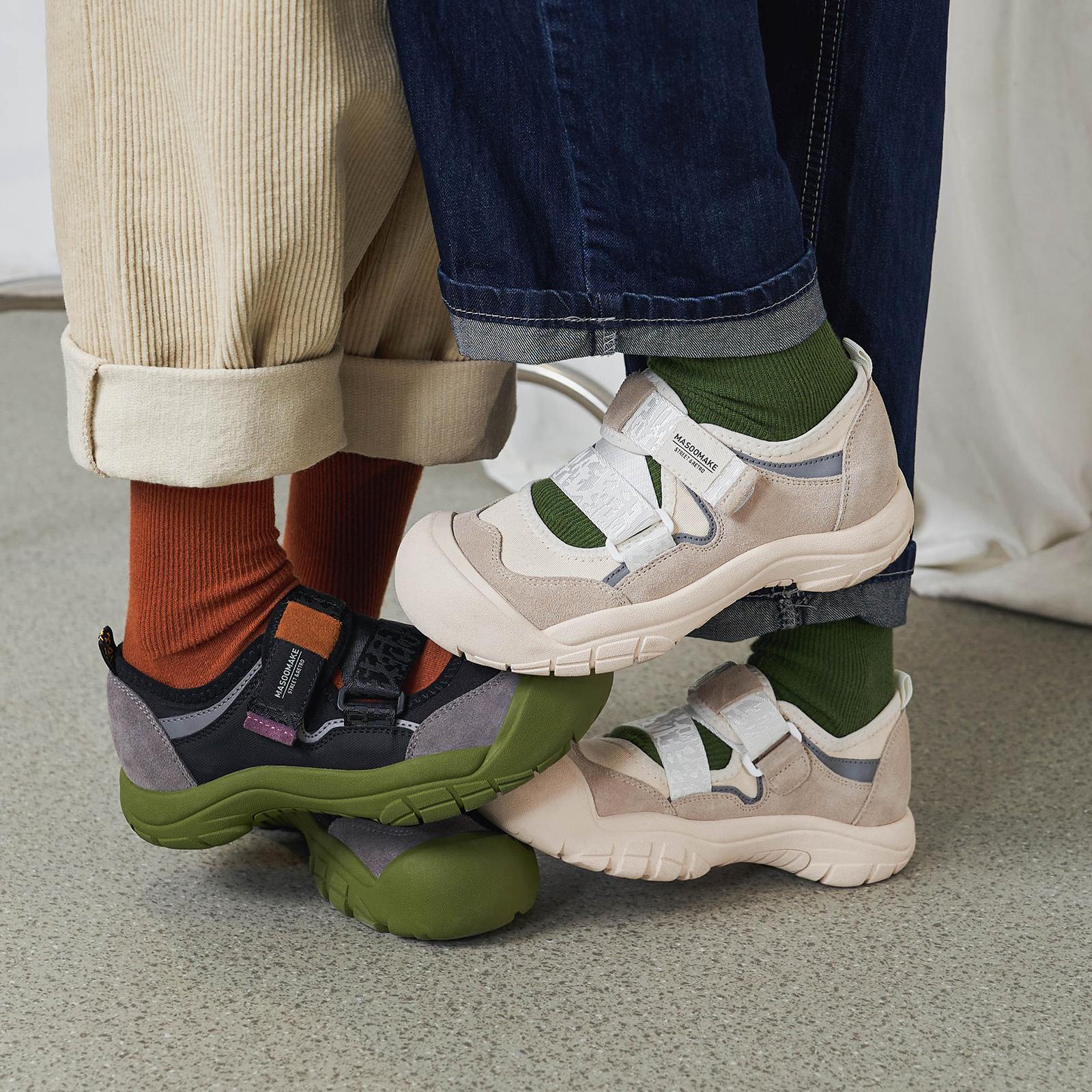 玛速主义 丑萌魔术贴老爹鞋女夏大头鞋ins潮网红休闲娃娃鞋运动鞋