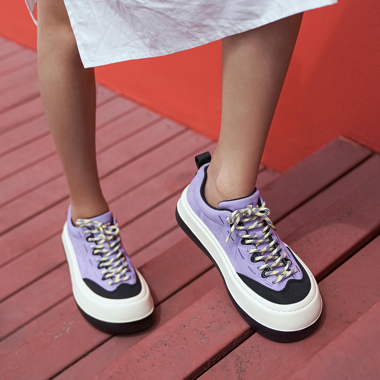 MASOOMAKE玛速主义 2020新款网红鞋子女秋冬摇摇鞋松糕厚底老爹鞋