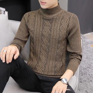 春秋青年男士韩版针织衫线衣毛衣
