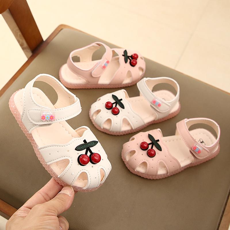 (用113.1元券)女童宝宝鞋2019夏季新款儿童凉鞋中小童软底公主鞋韩版幼儿学步鞋