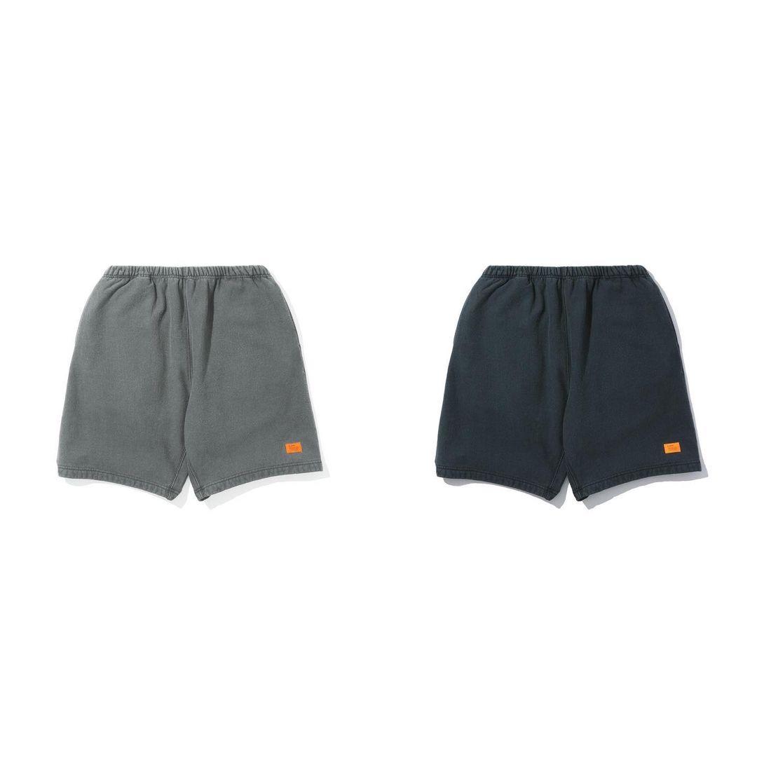 现货 MADNESS SWEAT SHORTS 橙标水洗运动休闲短裤 余文乐 21SS