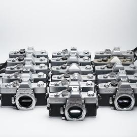 全金屬機械膠片相機MD口美能達SRT 101 SR-1S135膠卷單反收藏裝飾圖片