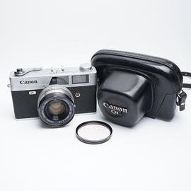 经典佳能canonet QL19胶片相机45/1.9全金属机械135胶卷旁轴皮套