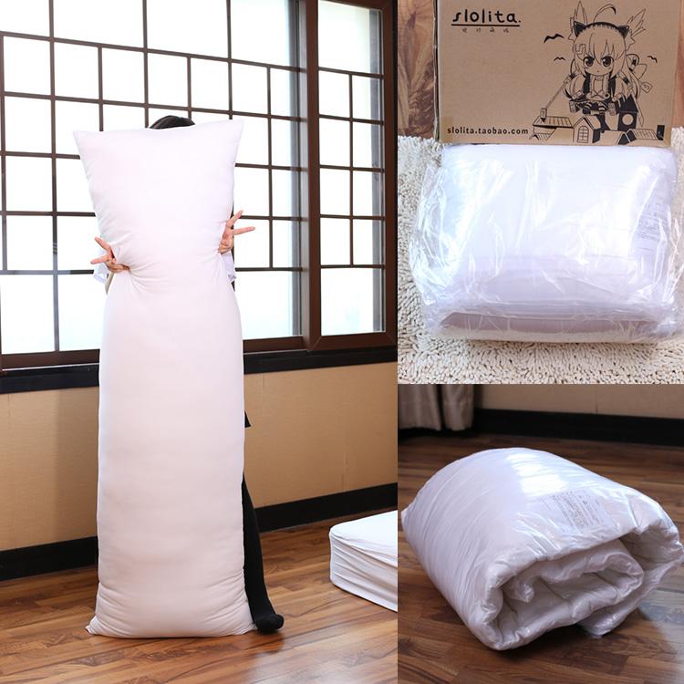 绝对萌域等身抱枕动漫周边二次元长款枕芯PP棉高弹棉七孔棉枕芯