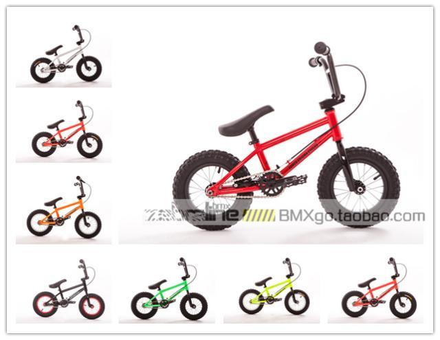 FEC 12-дюймовый BMX детские BMX, степпер, продвинутый обновление стиль Хром молибденовая сталь / высокая Углеродистая сталь 8 цветов