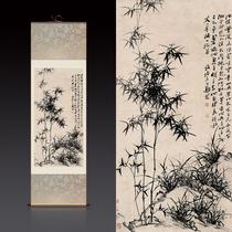 藝術微噴復制畫裝飾畫黃君壁山水國畫水墨畫